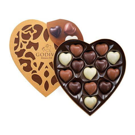 godiva cœur selection 14 chocolates delivery in europe