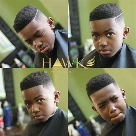 swag haircut for black boys hawk the barber prodigy sur instagram tbt this joint