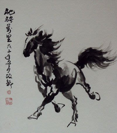 oriental horse tattoo japanese horse painting google search isaac tattoo