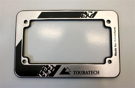 Typenschild Motorrad by Touratech Motorcycle License Plate Frame