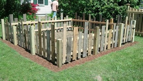 I Asked My Husband To Build Me A Whimsical Fence For My How To Build A Vegetable Garden Fence