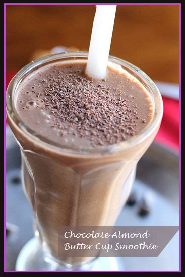 Detox Smoothie Almond Butter by Chocolate Almond Butter Cup Smoothie New You Sculpting