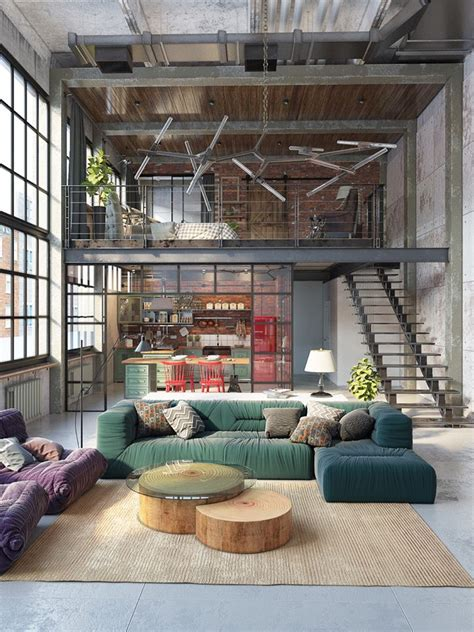reinvention of an industrial loft space home decor trends