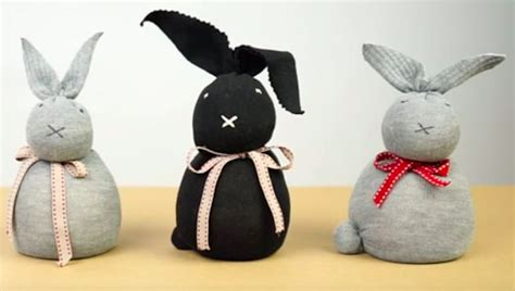 how to make a diy sock bunny simplemost