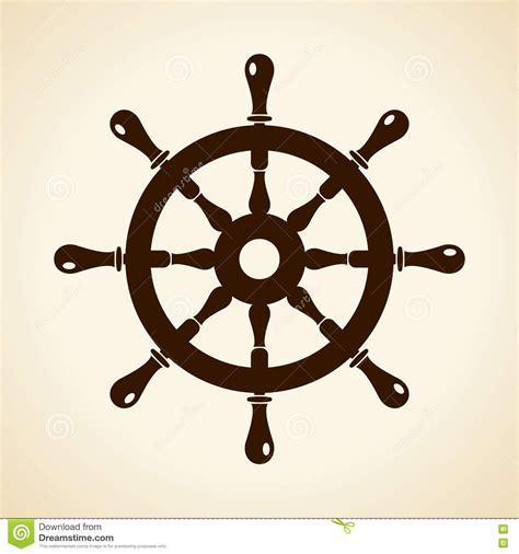 boat steering wheel icon boat steering wheel vector icon stock vector image 80987176