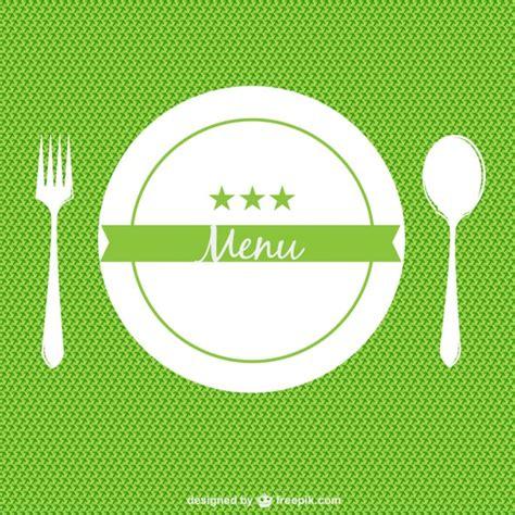 restaurant menu background in flat design style stock vector