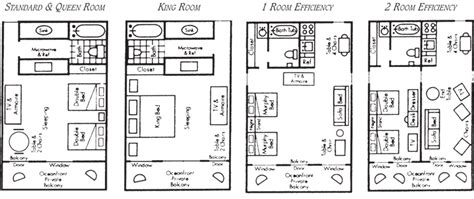 manor house floor plan accommodation floor plans the floor plans of the hotel rooms at the dunes manor hotel