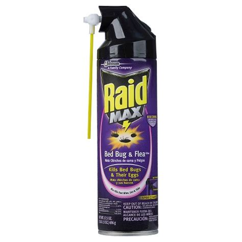 raid max bed bug flea killer  oz target