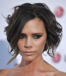 hairstyle in front in back for curly hair the best victoria beckham hairstyles hair world magazine