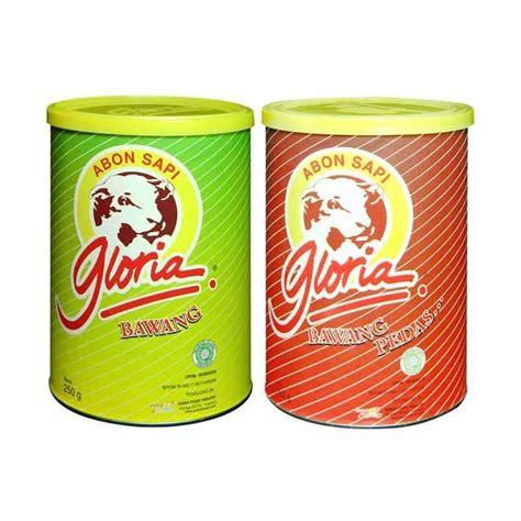Abon Sapi Gloria 250 Grm by Jual Gloria Abon Sapi Bawang Abon Sapi Bawang Pedas 250