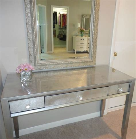 25 best ideas about mirror desk on mirrored vanity table mirrored vanity desk and