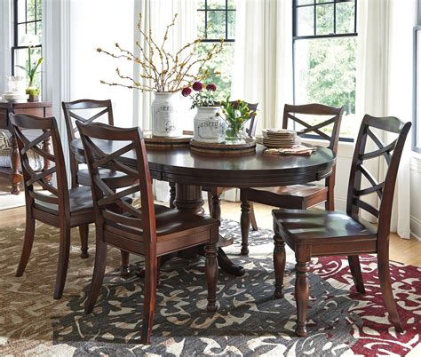 Porter Dining Room Set Furniture Porter 7 Dining Table Set Olinde S Furniture Dining 7 Or More