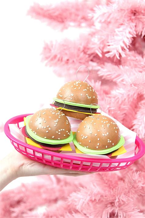 187 diy hamburger holiday tree ornaments