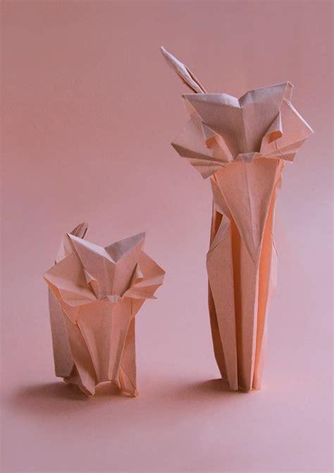 Cat Origami Tutorial - 25 best ideas about origami cat on origami