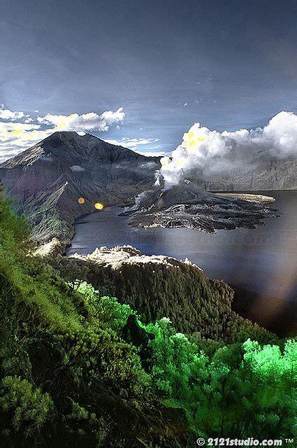 Kaos Gunung Rinjani Lombok 1 mount rinjani lombok indonesia yeahh memang saya orang lombok tapi saya belum pernah naik
