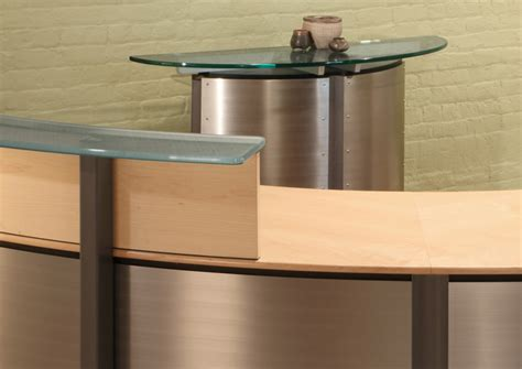 Semi Circle Reception Desk Semi Circle Reception Desk Reception Desks Stoneline Designs