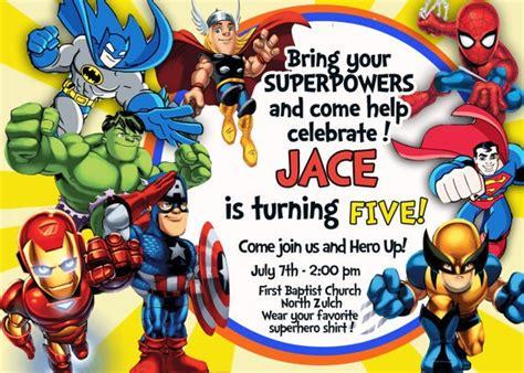 gmail themes avengers super hero squad dc friends invitation superhero