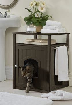 compare cat litter box cabinets merry pet  designer