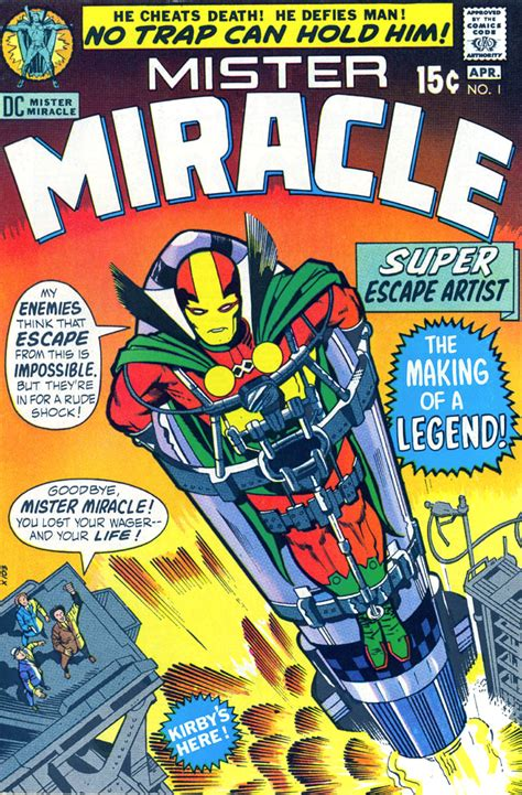 mister miracle by kirby new edition mister miracle 1 365 days of kirby s fourth world