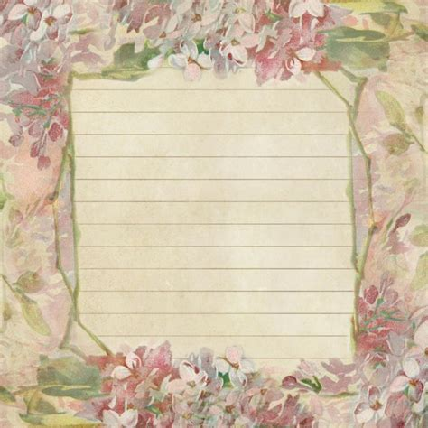 lined paper with spring border 408 best images about lined paper on pinterest journal