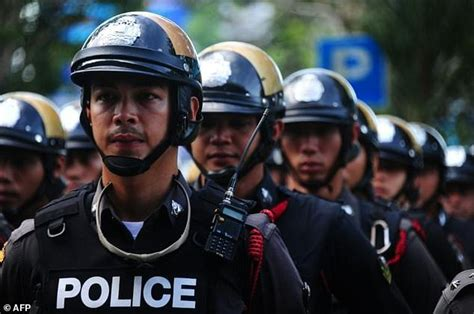 For Bad Cops In Thailand Involves Hello by Thai Cops Bust 3 Million Phone Scam Daily Mail