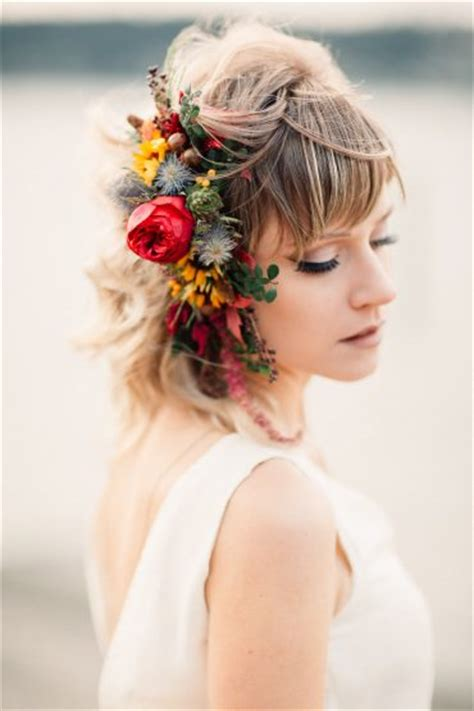 wedding hair accessories fresh flowers hair flowers tobey nelson weddings events