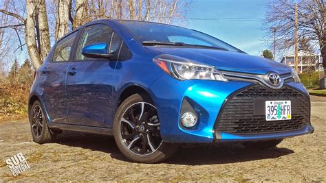 2015 Toyota Yaris 1 5 S M review 2015 toyota yaris se subcompact culture the