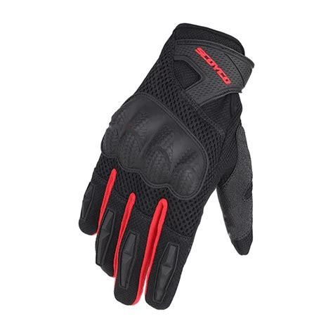 scoyco mc yazlik korumali eldiven siyah kirmizi fiyat