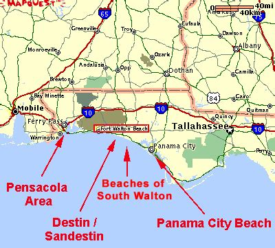 where is destin florida on the map destin area maps of the destin area