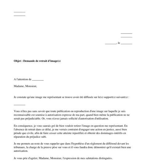 Modèle Autorisation Droit à L Image Entreprise