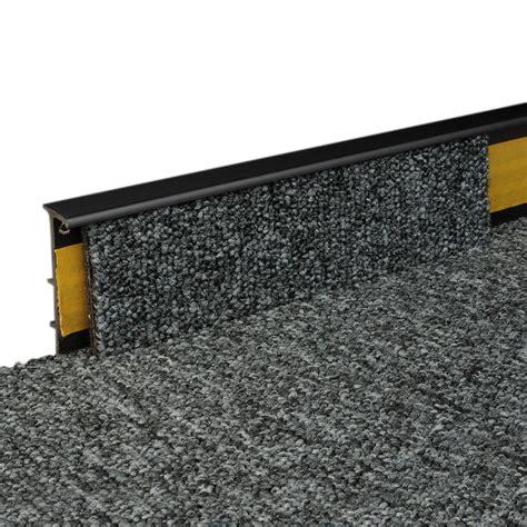 teppich 2 00 x 2 50 teppich sockelleiste schwarz 2500x50x15mm kunststoff ebay