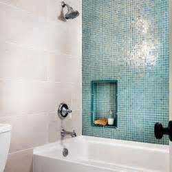 Bathrooms With Glass Tile » Home Design