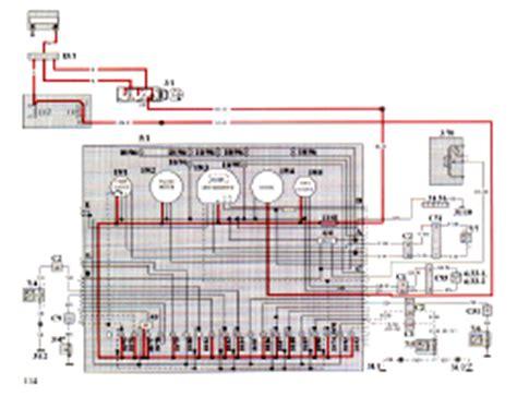 volvo 940 wiring diagram troubleshooting manual 1994