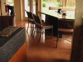 Dining Room Chair Cushions And Pads why concrete floors rock home remodeling ideas for