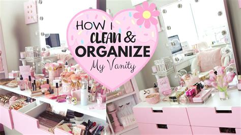 How Do I Clean A by How I Clean And Organize My Makeup Vanity Slmissglam