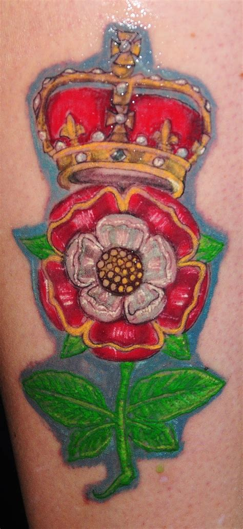 tudor rose tattoo 7 best images about on uk image