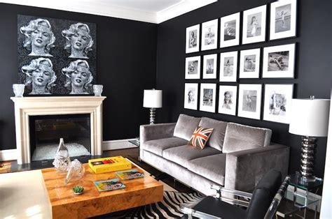 rooms painted black room painted black home design
