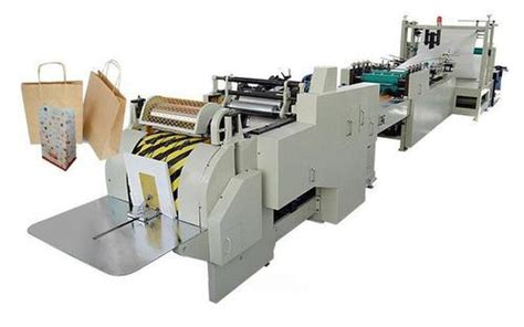 Small Scale Paper Bag Machine - paper bag machine groceries paper bag