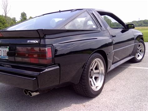 mitsubishi conquest interior mitsubishi starion review and photos