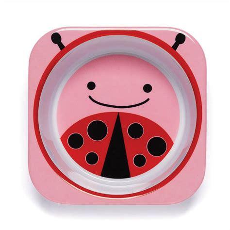 Utensil Set Skip Hop Ladybug skip hop zoo ladybug melamine dinnerware