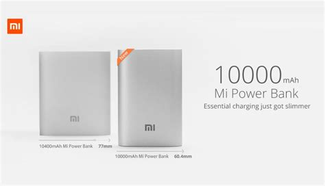 Powerbank Slim Asus Xiaomi 58000 Mah xiaomi unveils new 10000mah powerbank takes on asus and