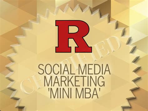 Article Business Mini Mba by 10 Social Media Certifications For Marketing Pros Cio