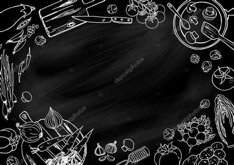 cooking kitchen food background stock vector  schiva