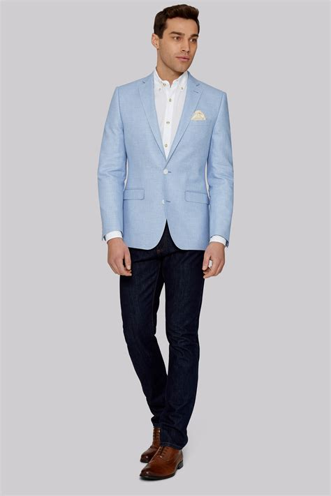 light blue linen light blue linen blazer muslim heritage