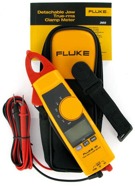 Fluke 365 True Rms Acdc Cl Meter new fluke 365 detachable jaw true rms ac dc cl meter