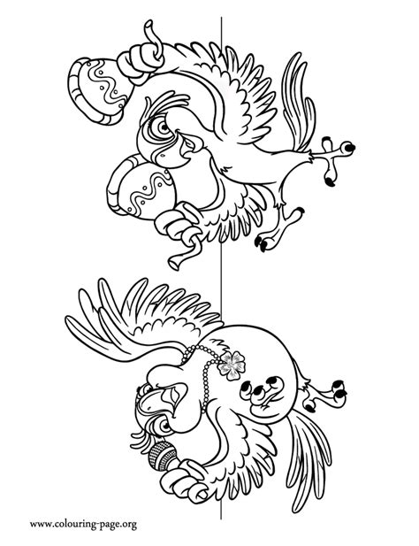 blue rio coloring pages coloring pages