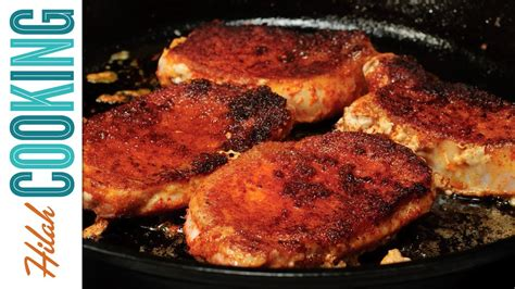 how to make pork chops hilah cooking