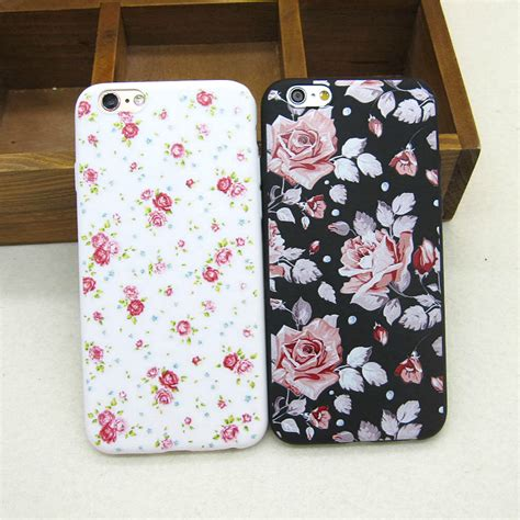 Casing Silicon Soft Iphone 5 5s Se Flower Bling Cover 1 sale beautiful vintage flowers soft slim back