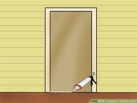 Install An Exterior Door How To Install An Exterior Door 14 Steps With Pictures