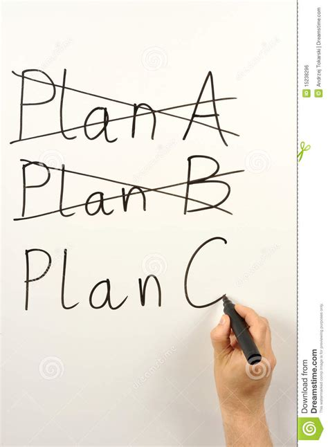 c plans plan c stock photo image of business change plans